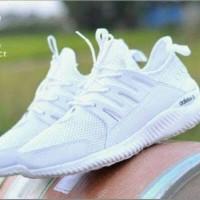 Sepatu Adidas Alphabounce Lokal Full White