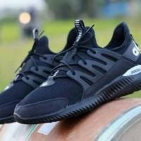 Sepatu Adidas Alphabounce Lokal Full Black