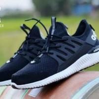 Sepatu Adidas Alphabounce Lokal Hitam
