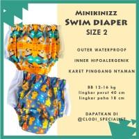 Minikinizz Swim Diaper 12-16kg - Baju Celana Renang Anak Bayi