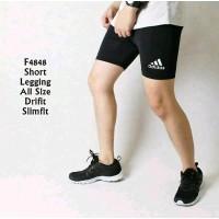 Celana Baselayer Pendek Adidas Strect Manset Training Legging Renang