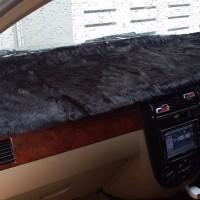 best seller Alas Bulu Cover Penutup Dashboard Bulu Pendek Mobil Hitam