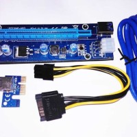 USB 3.0 PCI-E PCI Express Riser Card 1x to 16x VGA RISER (READYSTOCK)
