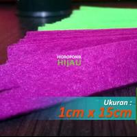 Kain Flanel Sumbu Hidroponik 1cm x 15cm Penyerap Air Untuk Tanaman