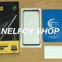 S9 Plus Tempered Full Glue Glass Kaca Edge Anti Gores Mika Glare Note