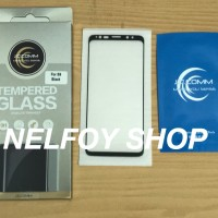 Tempered Glass Samsung S9 Kaca Edge S7 Anti 8 Gores Mika Glare Note S8