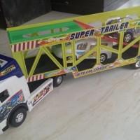 Mainan Truck Ukuran besar (BIG TRUCK SUPER TRAILER) Size Jumbo