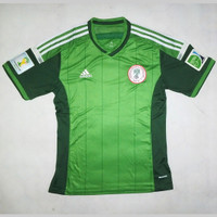 JERSEY NIGERIA HOME 14/15 FULLPATCH WORLD CUP 2014