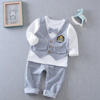 Baju Anak Import Branded Setelan Anak Laki Laki Vest Dasi Kupu Abu
