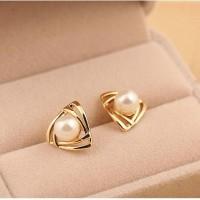 anting mutiara korea pearl earrings korean fashion earring jan117