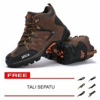 Sepatu Gunung Pria/Sepatu Outdoor SNTA 469 Brown/Red