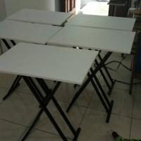 60 x 40 meja lipat meja belajar portable cafe kantin bazaar kantor