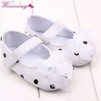 Sepatu Prewalker Sepatu Bayi Baby Shoes Polkadot Pita