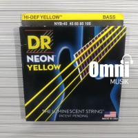 Senar Bass DR String Neon Yellow - NYB45 45-105