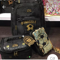 SMIGGLE 15TH BDAY SET BLACK