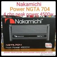 Power Nakamichi  NGTA-704  , 4 CHN Asli