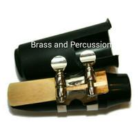 Mouthpiece Alto Saxophone 1 Set Mouthpiece, Reed, Cap, Ligature