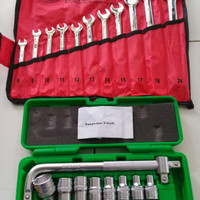 Kunci Sok Set Tekiro 8-24mm Paket Ring Pas Set 8-24mm
