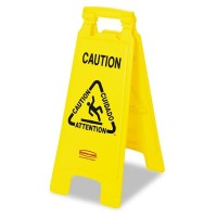 HOT RUBBERMAID Floor Safety Signs ( FG611277 )