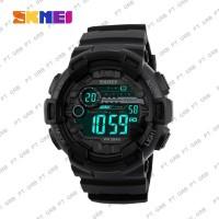 Jam Tangan Pria DIgital SKMEI 1243 Black Water Resistant 50M