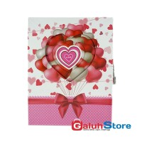 Kiky Buku Diary HC A5 W/Box + Orn Love 10001 Balon