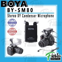Microphone BOYA BY-SM80 Stereo X-Y Condensor Microphone