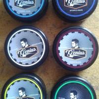Pomade Genius 55gram Murah Pomade Lokal Gratis Sisir dan Stiker