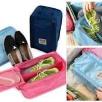 Monopoly shoes pouch travel tas sandal sepatu bag organizer (SOW)