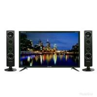 PROMO Tv Led Polytron 40 Inch PLD40TS853 DIGITAL TV Tower Speaker Usb