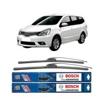 "Wiper Kaca Mobil BOSCH Clear Advantage for Nissan Grand Livina 24&14"""