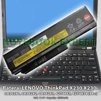 Baterai Laptop Lenovo ThinkPad X220 X220i X220s, x230 x230i