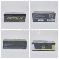 CRYSTAL X / CRYSTAL-X / CRYSTALX NASA ORIGINAL 1000% GARANSI