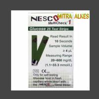Strip gula darah nesco / strip glucose nesco / stik gula darah nesco