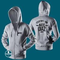 Jaket Hoodie Zipper Ufc Nate Diaz - 313 Clothing