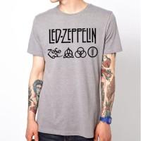 Tshirt Kaos Led Zeppelin - Abu Misty
