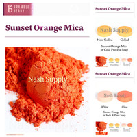 Sunset Orange Mica