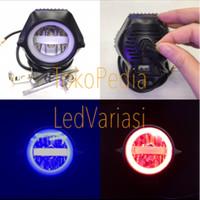 Lampu Tembak LED CREE RTD A01X (30Watt)+USB Charger SOROT MOTOR MOBIL