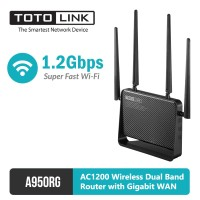 Wireless Dual Band Router with Gigabit WAN AC1200 - TOTOLINK A950RG