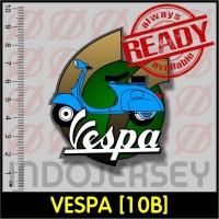 Stiker Baju Setrika Flock - VESPA [10B]