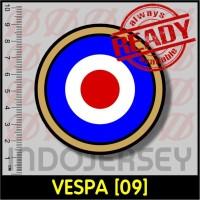 Stiker Baju Setrika Flock - VESPA [09]