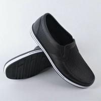 Sepatu Pantofel Karet Merk Sankyo SAF 1146 - Hitam, 40