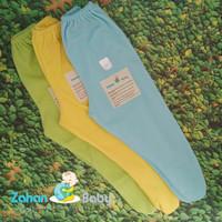 Celana Panjang Bayi Tutup Kaki Polos Piyama Lahiran Murah Koas Lembut