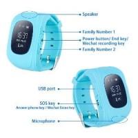 Cognos Smartwatch Q50 Kids Watch GPS Sim Card Smart Wat Harga Terbaik