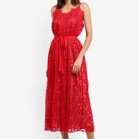 Little Mistress Cayenne Lace Dress