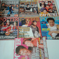Majalah poster berbagai edisi dijual satuan