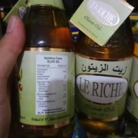 (Sale) Minyak zaitun le Riche 300 ml asli Gratis bubble wrap