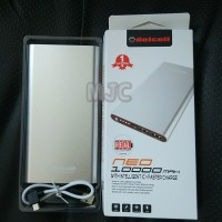Power Bank DELCELL Neo 10000mah Faster Charger Original