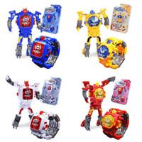 Jam Tangan Transformers Watch / Jam Anak Robot Transfomers Dade Toys - Merah