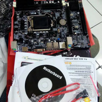 Processor Core i5 650 3,2ghz + Mainboard H55 + FAN ori