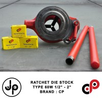 "Senai Pipa Manual 1/2"" - 2 "" | Ratchet Die Stock 60W 1/2-2"""
